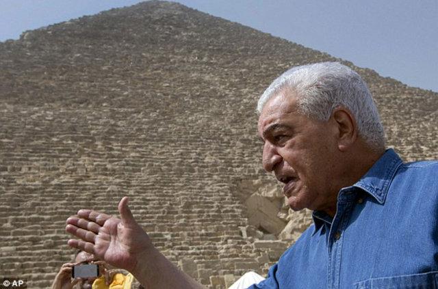 Giza Piramitleri'nde gizli odalar bulundu