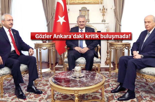 Kemal Kılıçdaroğlu Devlet Bahçeli Binali Yıldırım