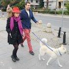 Macit Bitargil, Pelin Batu'yla birlikte yürüyüş yaptı