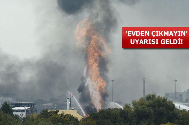 Almanya'da korkutan patlama