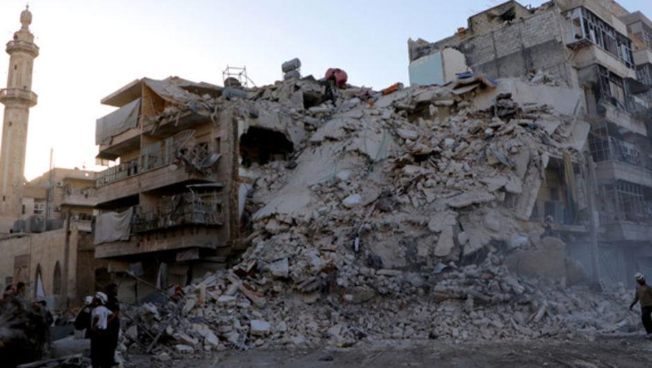 AB Rusya Halep Suriye
