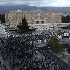 Yunanistan'da hükümet karşıtı gösteri