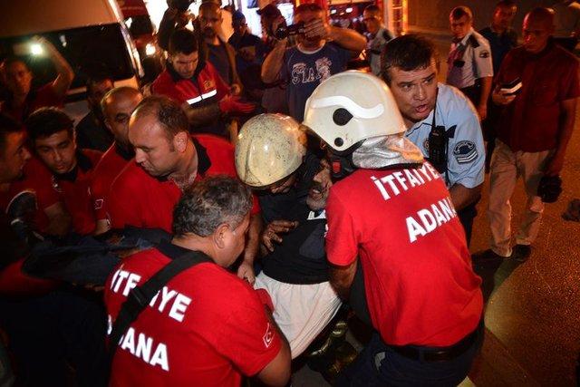 Adana'da zincirleme kaza