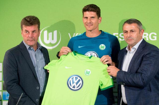 Beşiktaş'tan ayrılan Mario Gomez hem kendini yaktı hem de Wolfsburg'u