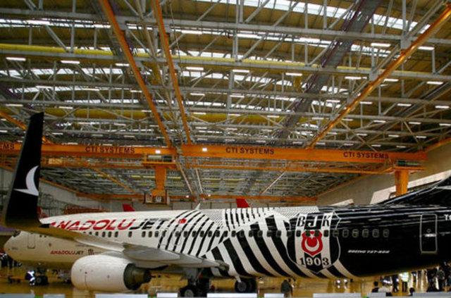 Beşiktaş'a özel uçak!