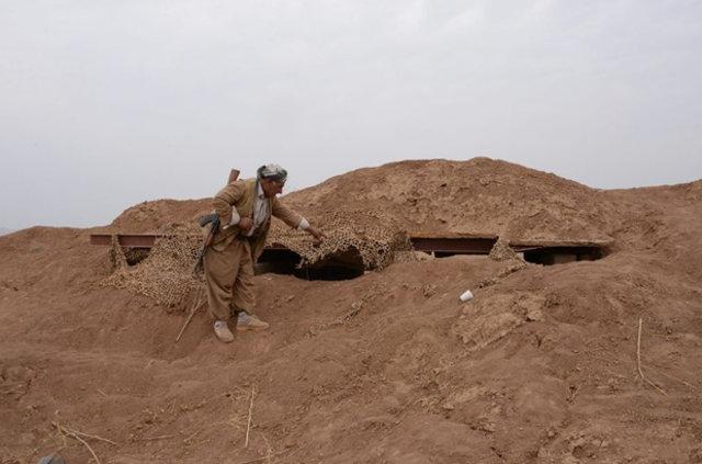 DEAŞ'ın Musul'da kazdığı tüneller