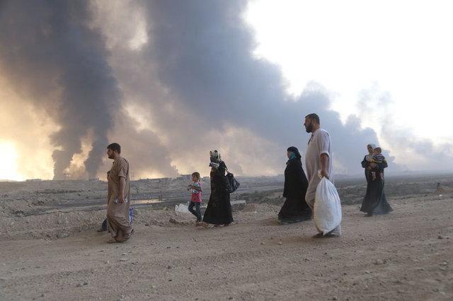 Musul'dan büyük kaçış başladı!