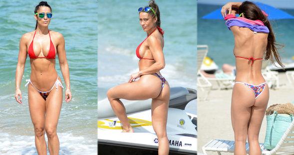 Anais'den bikini şov