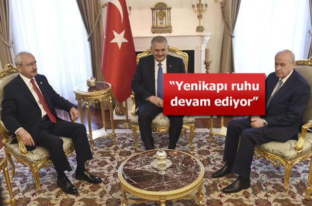 Başbakan'dan yeni anayasa açıklaması!