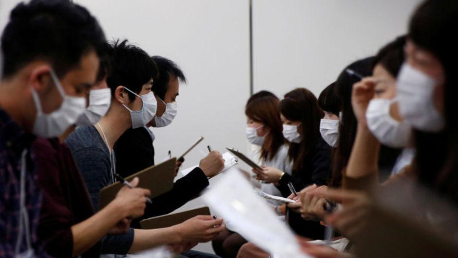 japonya maskeli flört