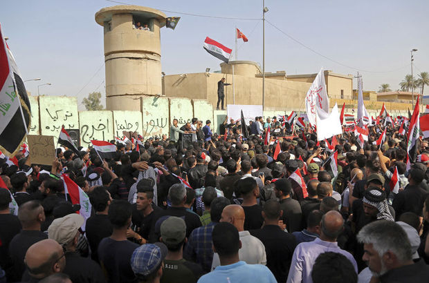Irak'ta Türkiye karşıtı protesto