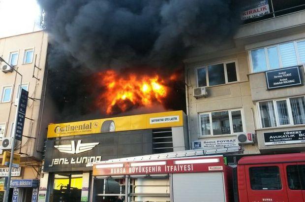 SON DAKİKA! Bursa'da yangın