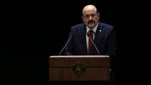 YÖK başkanı Yekta Saraç Beştepe'de konuştu
