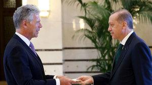Erdoğan, Kuveyt Büyükelçisini kabul etti