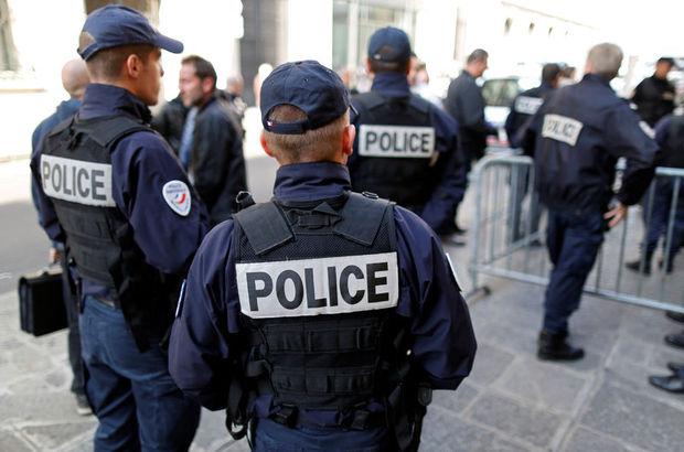 Fransa Paris polis eylemi