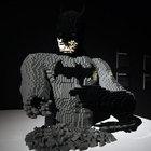 Lego'dan yapılmış süper kahramanlar Madrid'de