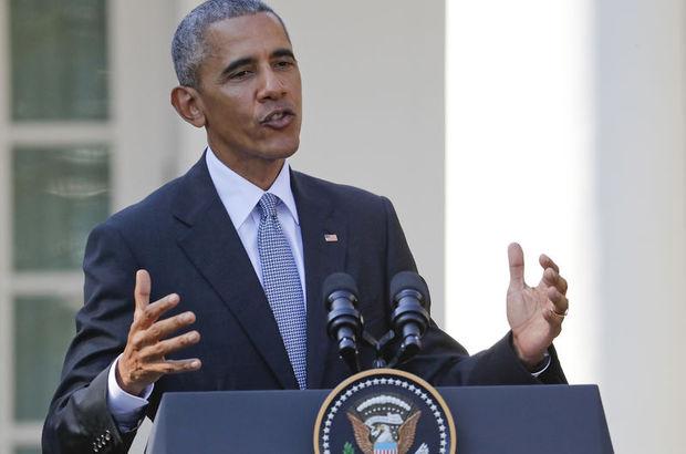 Obama'dan ilk kez açıklama