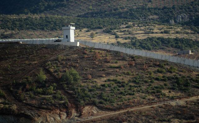 Suriye sınırında Hatay'dan, Kilis'e kadar duvar örüldü
