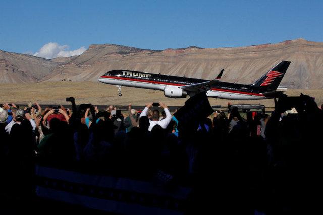 Başkan adaylarından önce uçaklar kapıştı!