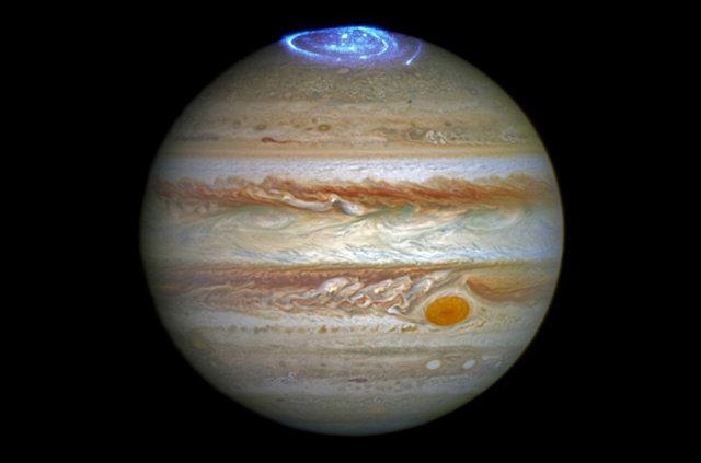 Jüpiter'in geceleri Merkür ve Venüs'ten bile sıcak!