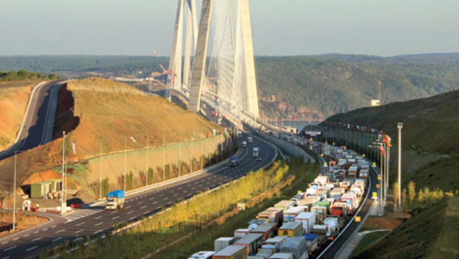 Yavuz Sultan Selim Köprüsü trafik