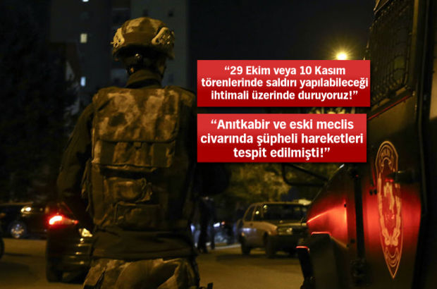 Ankara'da terör operasyonu! Bir canlı bomba ölü ele geçirildi...