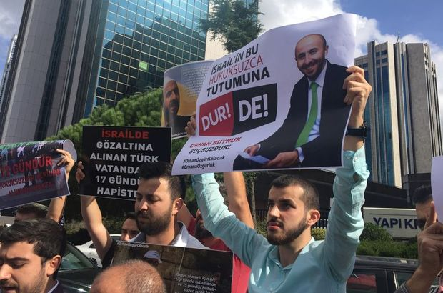 İsrail'de gözaltına alınan Türk serbest