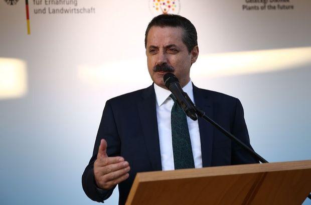 Tarım Bakanı Çelik'ten İtalyanlara fındık yanıtı