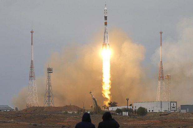 Soyuz fırlatıldı