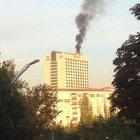 Ankara Hilton'da yangın