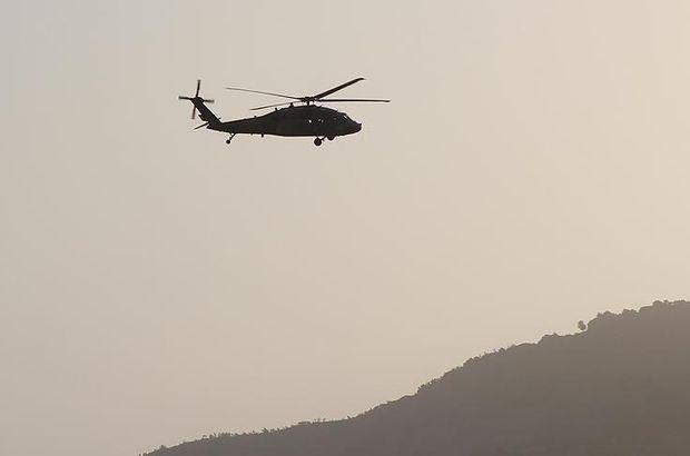Özbekistan'da askeri helikopter düştü