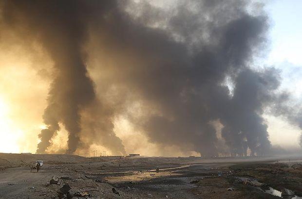 DEAŞ kurtarılan köyleri bombalıyor