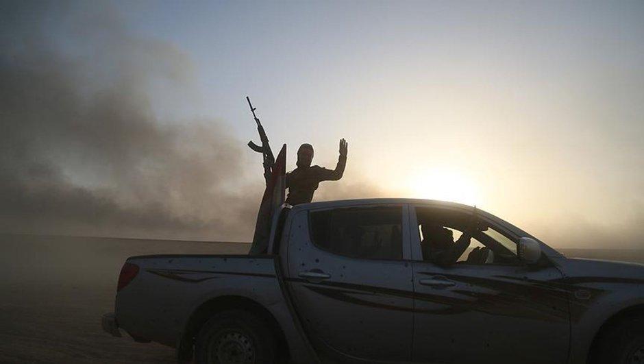 Musul Irak ordusu DEAŞ