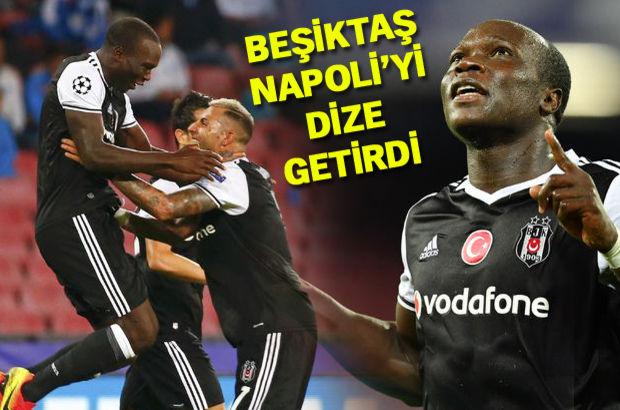 Napoli: 2 - Beşiktaş: 3 Aboubakar'ın attığı goller