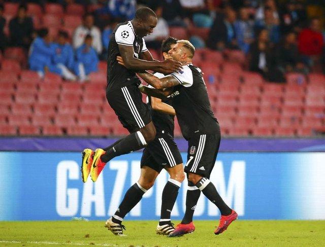 Beşiktaş Napoli maçında ilkleri yaşattı