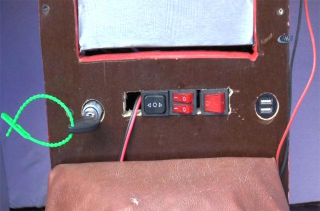 Tunceli'de elektrikli araba üretti!