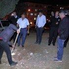 Esrarengiz mezar polisi alarma geçirdi