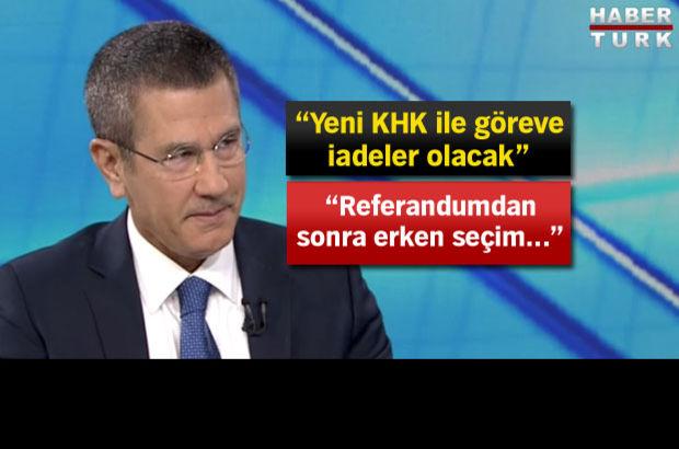 Canikli: MHP 'başkanlık' teklifini Meclis'e gelmeden görecek