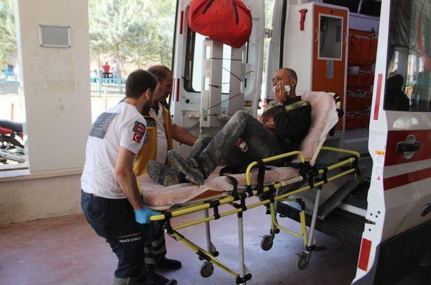 Suriyeli işçi yüzünü kesti!
