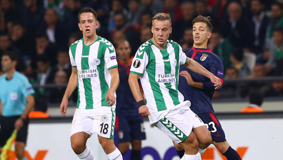 Konyaspor: 1 - Braga: 1 | MAÇ SONUCU