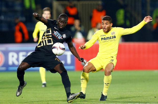 Osmanlıspor: 2 - Villarreal: 2 maç özeti