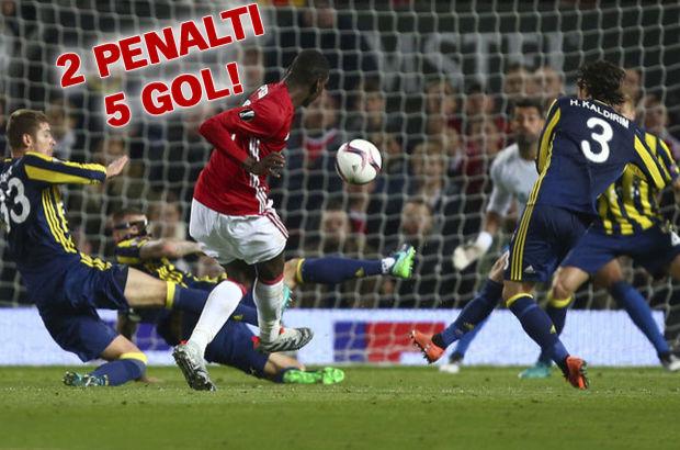 Manchester United: 4 - Fenerbahçe: 1 | MAÇ SONUCU