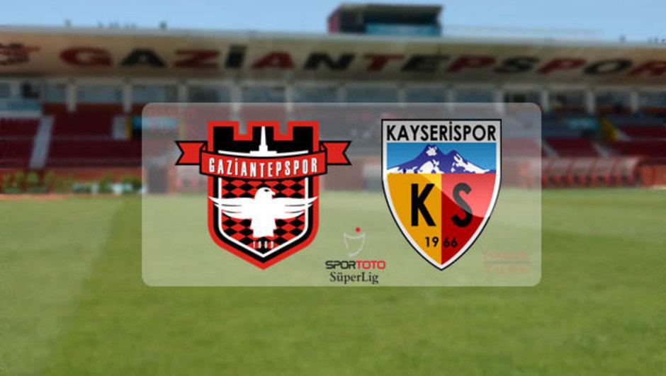 Gaziantepspor Kayserispor