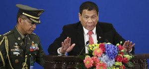 Filipinler Devlet Başkanı Duterte'den ABD açıklaması