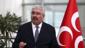 MHP'li Semih Yalçın'dan başkanlık açıklaması