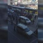 Sabiha Gökçen Havalimanı'nda taksicilerle otobüs şoförleri arasında gerginlik