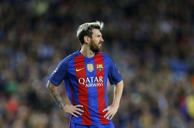 Lionel Messi Barcelona Şampiyonlar Ligi