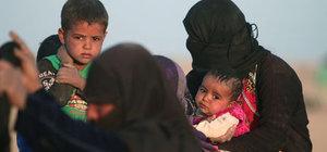 DEAŞ Musul'da 550 aileyi canlı kalkan olarak kaçırdı