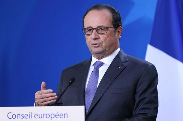 Fransa Cumhurbaşkanı François Hollande Musul Rakka