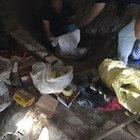 Eski askerlik şube binasından mühimmat ve ceset çıktı